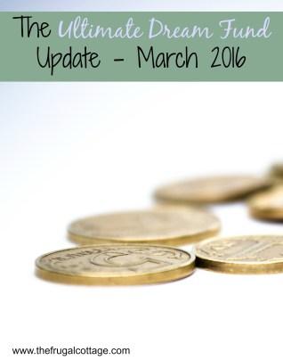 Ultimate Dream Fund Update March
