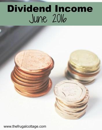 Dividend Income June