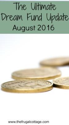 Ultimate Dream Fund Update August