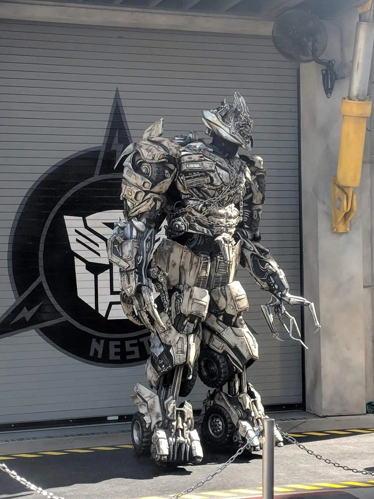 Decepticon at the Transformers exhibit
