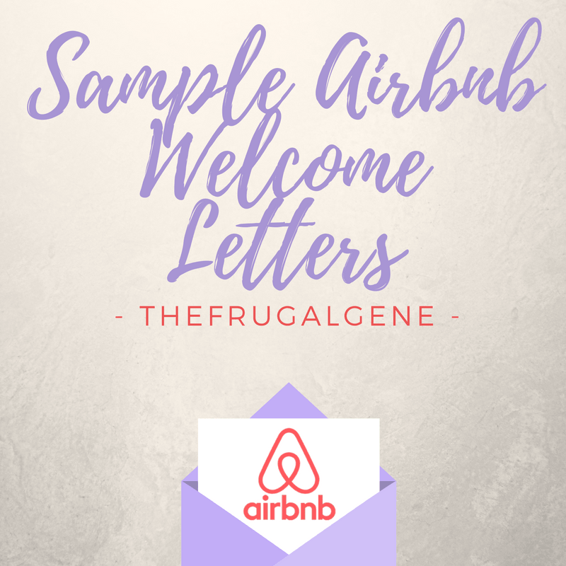 Airbnb Template Messages Welcome Letters Amp Security Deposits