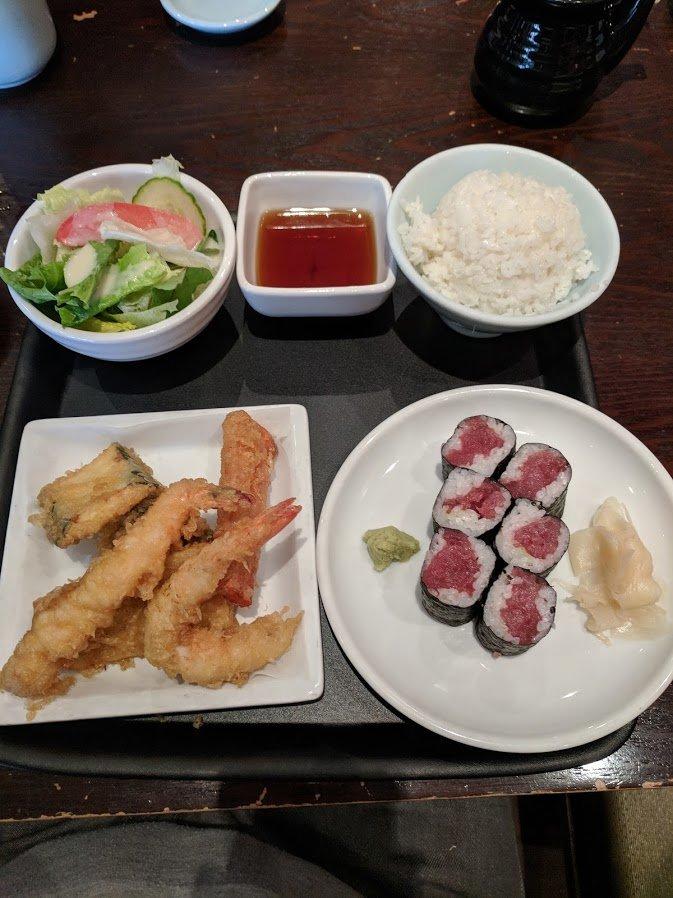 sushi-lunch bento