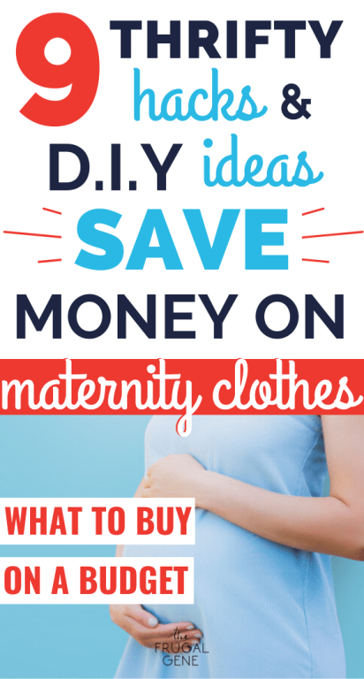 Pregnant? Hate clutter? Want to save money? Me too! Read these 9 maternity wardrobe tips & tricks that's fashionable & frugal. Including an ESSENTIAL list + guide of necessary clothes you ACTUALLY need on a tight budget. - Maternity clothes, hacks, ideas, how to make, pregnancy, avoid buying, regular clothes, DIY tutorial, videos, dresses, save money, what to buy on a budget, spring, summer, first trimester, second, third trimester, winter, for work, maternity wear, saving money, new mom, outfit