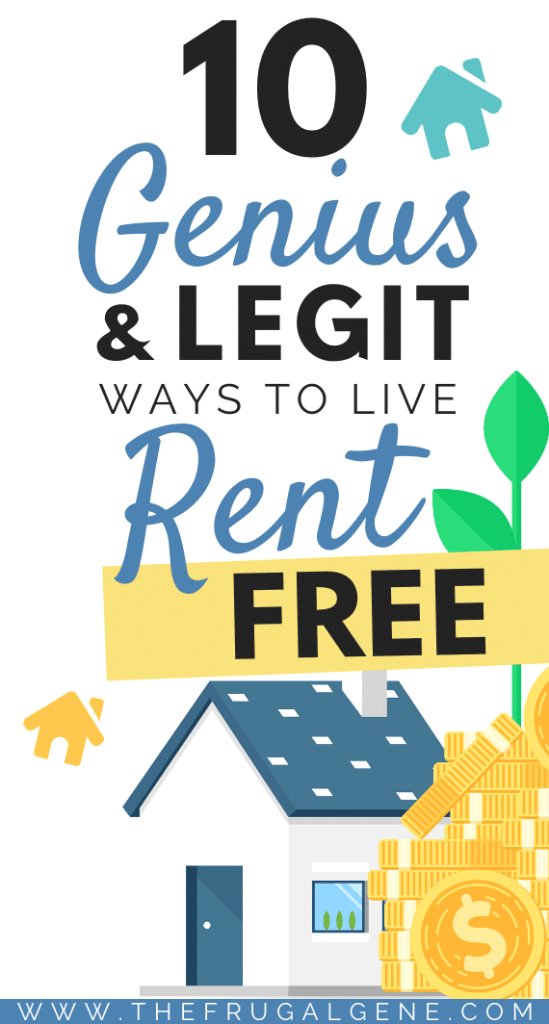 Awesome tricks I didn't know about these. - Do you ever dream of living rent free? Not paying a dime to your landlord? Here are the best tricks to live rent and mortgage free in a house without paying a dime. Don't believe me? See how we (and others) did it. Here's 10 genius ways to living rent free! - Live rent free, save money, personal finance, life hacks, money tips, financial freedom, house sitting, airbnb, rental, make extra money sublet apartment room, mortgage free living, debt free life