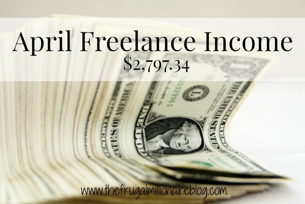 april freelance income