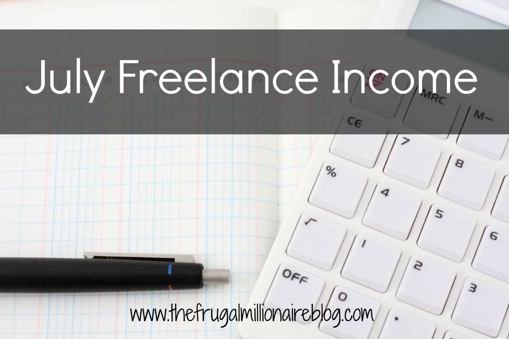 July Freelance Income