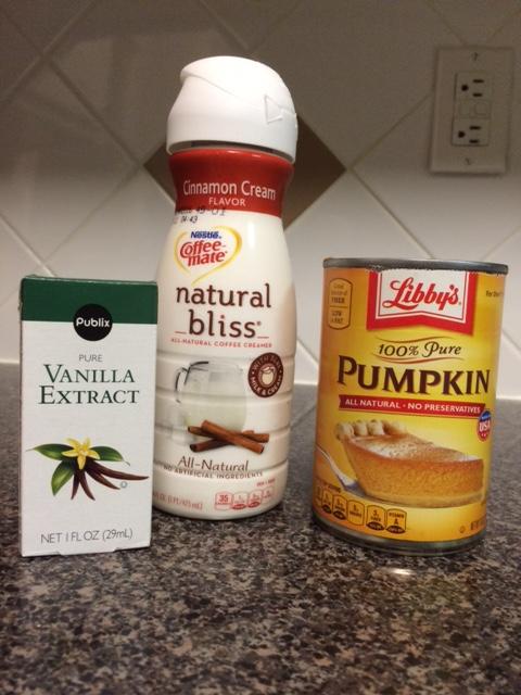 pumpkin creamer ingredients