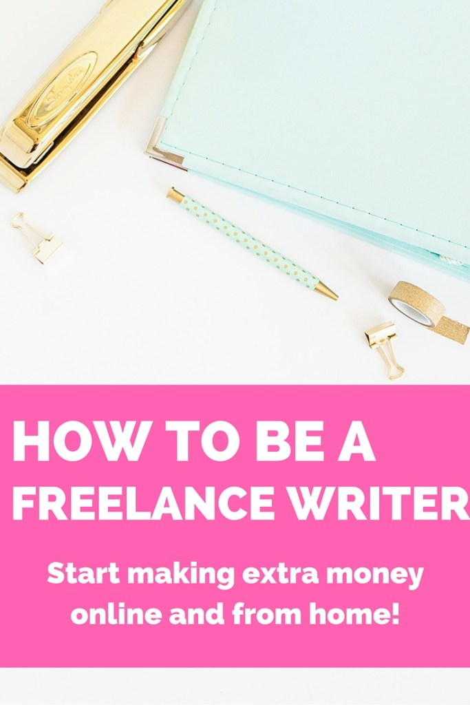 How to be a freelance writer. Here are two things you absolutely need to do to be a freelance writer. I've been freelancing for 4+ years and make a steady $1,000+ per month in just a few hours total! Ready to get started?!