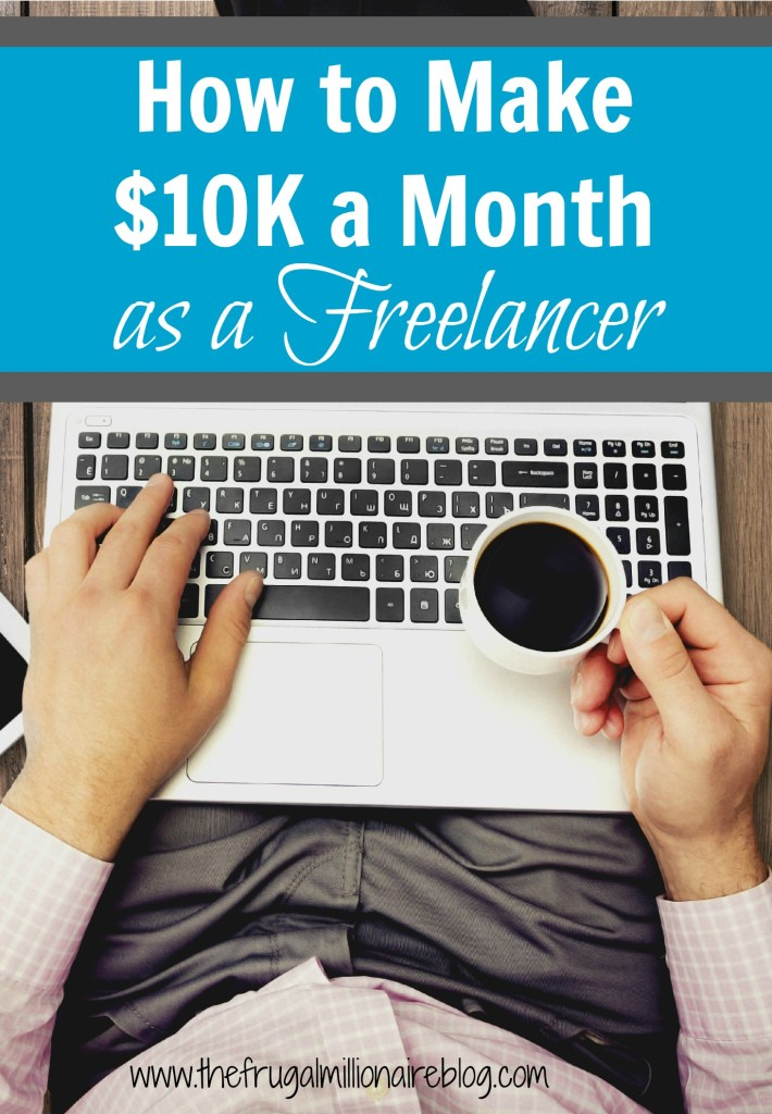 Do you want to earn a living as a freelance writer? Check out this interview from one freelancer (and mom of two toddlers, no less!) who is earning well over $10,000 per month! She's a rockstar, but there's no reason you can't do the same, too!