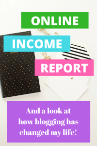 A look at this month's online income report. Here, I'm sharing all sorts of details on how I make money online, plus a look at how blogging has changed my life!