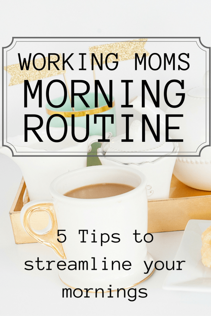 Working moms, are you ready to streamline your mornings and stop getting to work so frazzled?! As a working mom of three, my mornings used to be so chaotic. Now, they are peaceful and productive. See my secrets here!