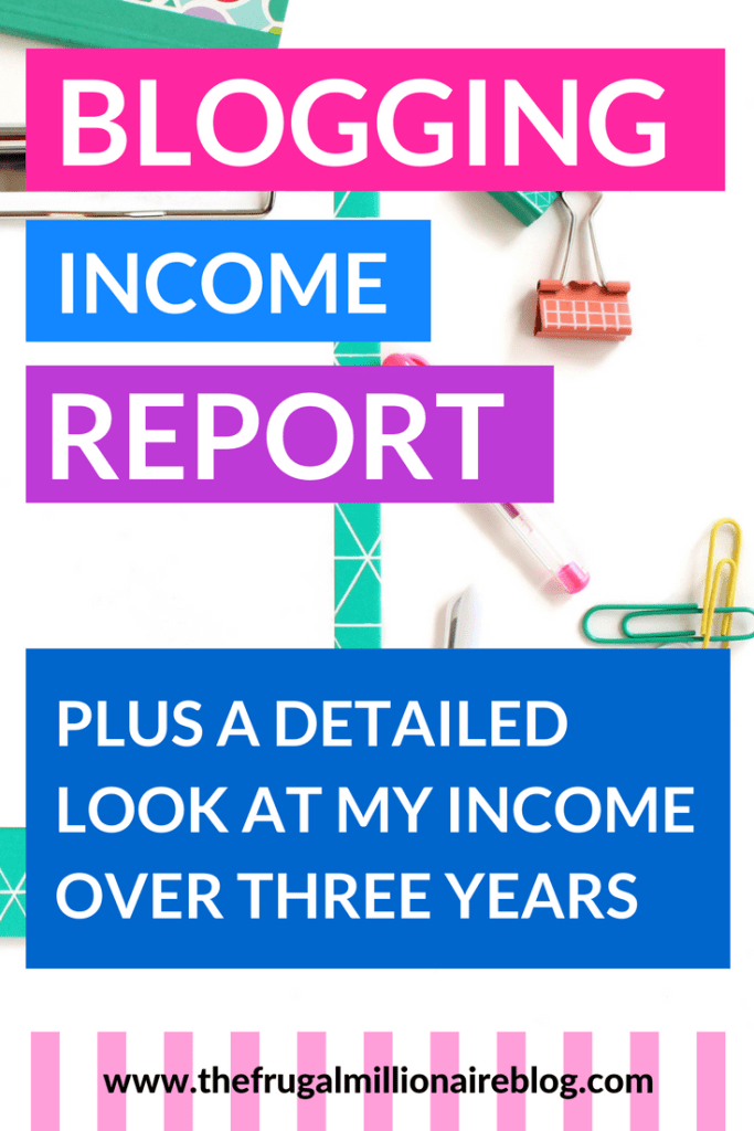 A detailed look at how my blogging income has evolved over the past three years.