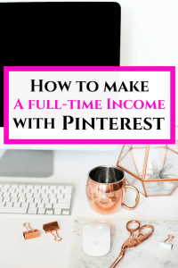 Use Pinterest to make a full time income online! Learn how to become a Pinterest virtual assistant and start your own online Pinterest business.