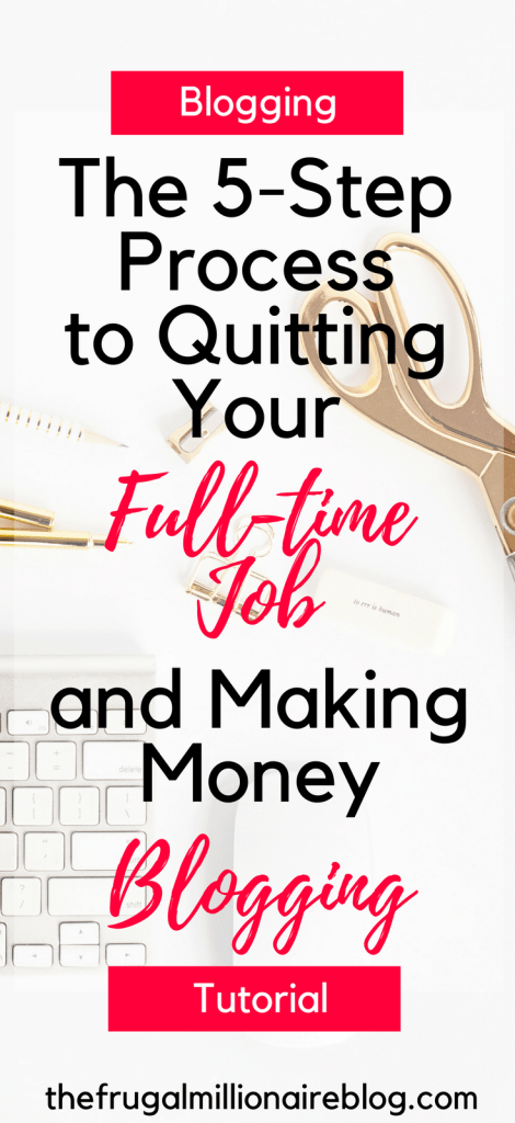 Do you dream of quitting your full-time job to be a blogger and stay at home with your kids?! It's TOTALLY possible, but there's a lot to learn! This guide will show you exactly how to quit your job to blog full-time!