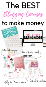 Ready to make money blogging?! These are the BEST courses out there to guide you on your blogging journey! Check them out now!