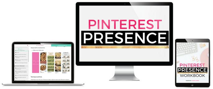 Pinterest Presence course