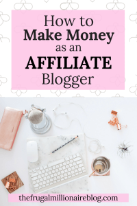 Make passive income each month as an affiliate blogger! If you want to make some extra money on the side (or as your full-time job!), this post is a must!!! Learn how to effectively make sales as an affiliate blogger!