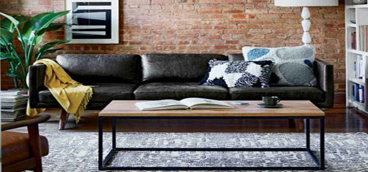west elm living rooms room layout with couch and loveseat modern for less