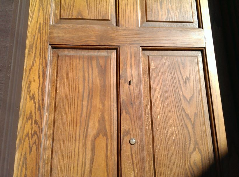 How to Re-Stain Your Front Door