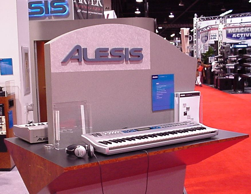 Alesis QS6.2 at NAMM 2002