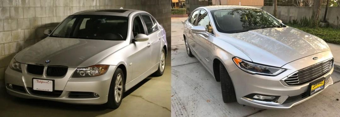 BMW325i vs. Ford Fusion SE