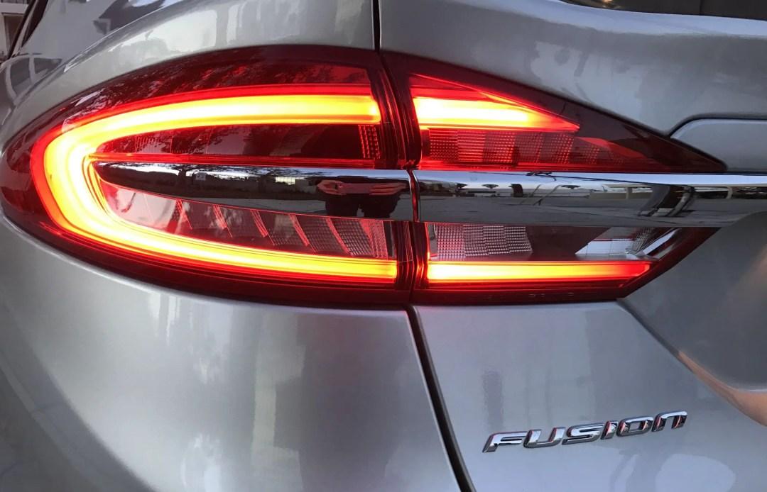 Ford Fusion LED tail light