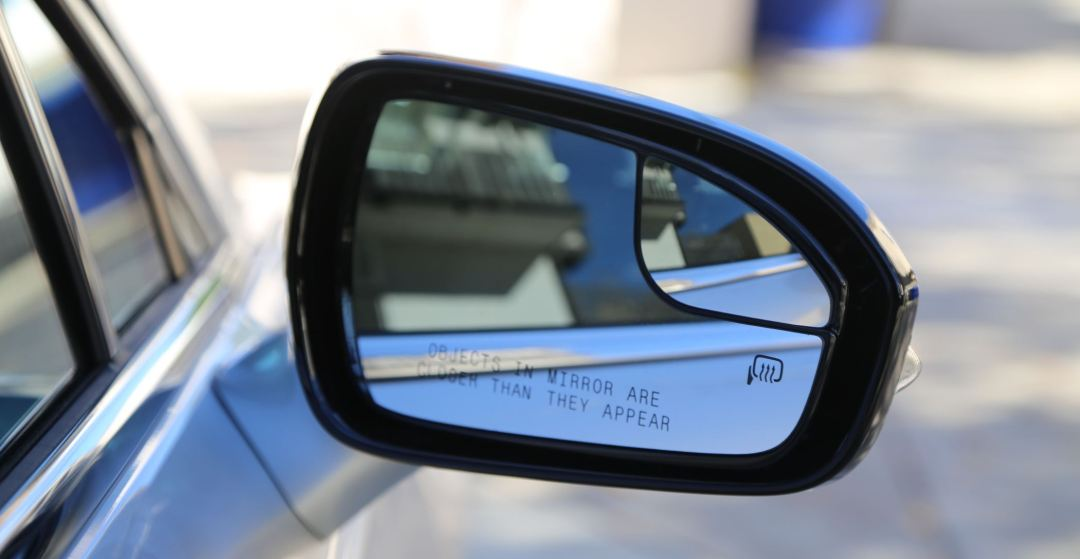 Fusion side-view mirrors