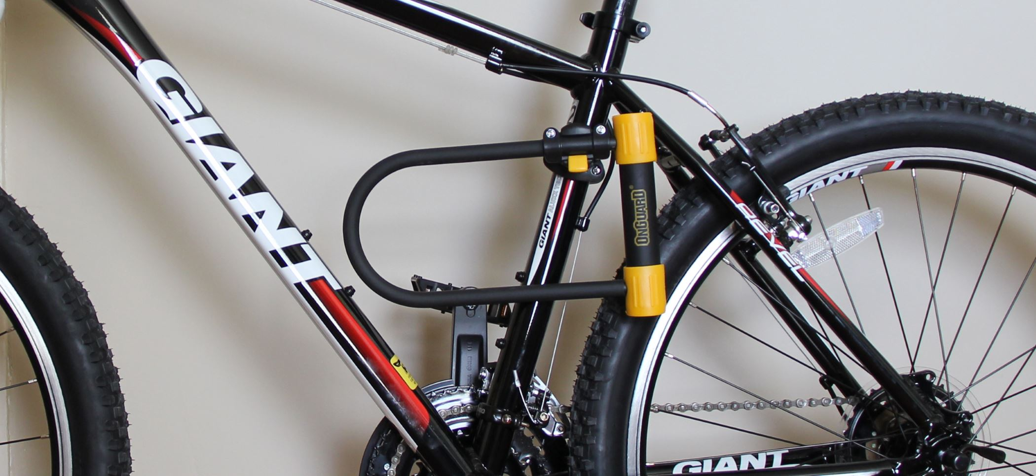 OnGuard Clamp Bracket Mount for Bicycle Lock