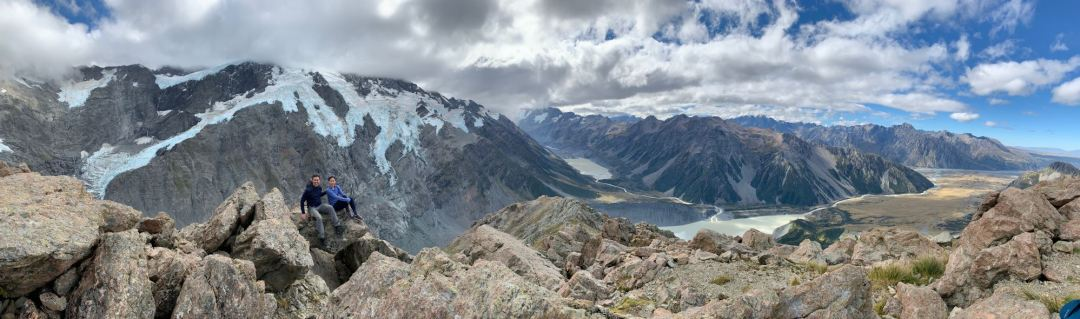 View on the way up to Mueller Hut
