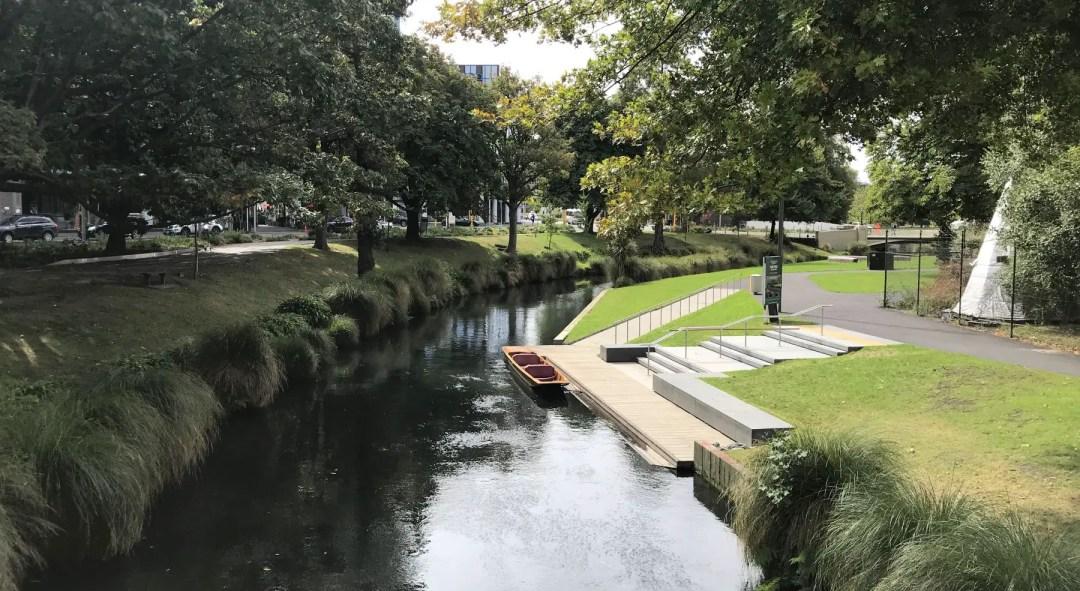 Avon River in Christchurch, NZ