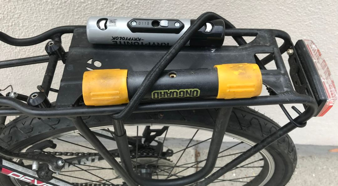 The best way to carry a U-lock on your bike