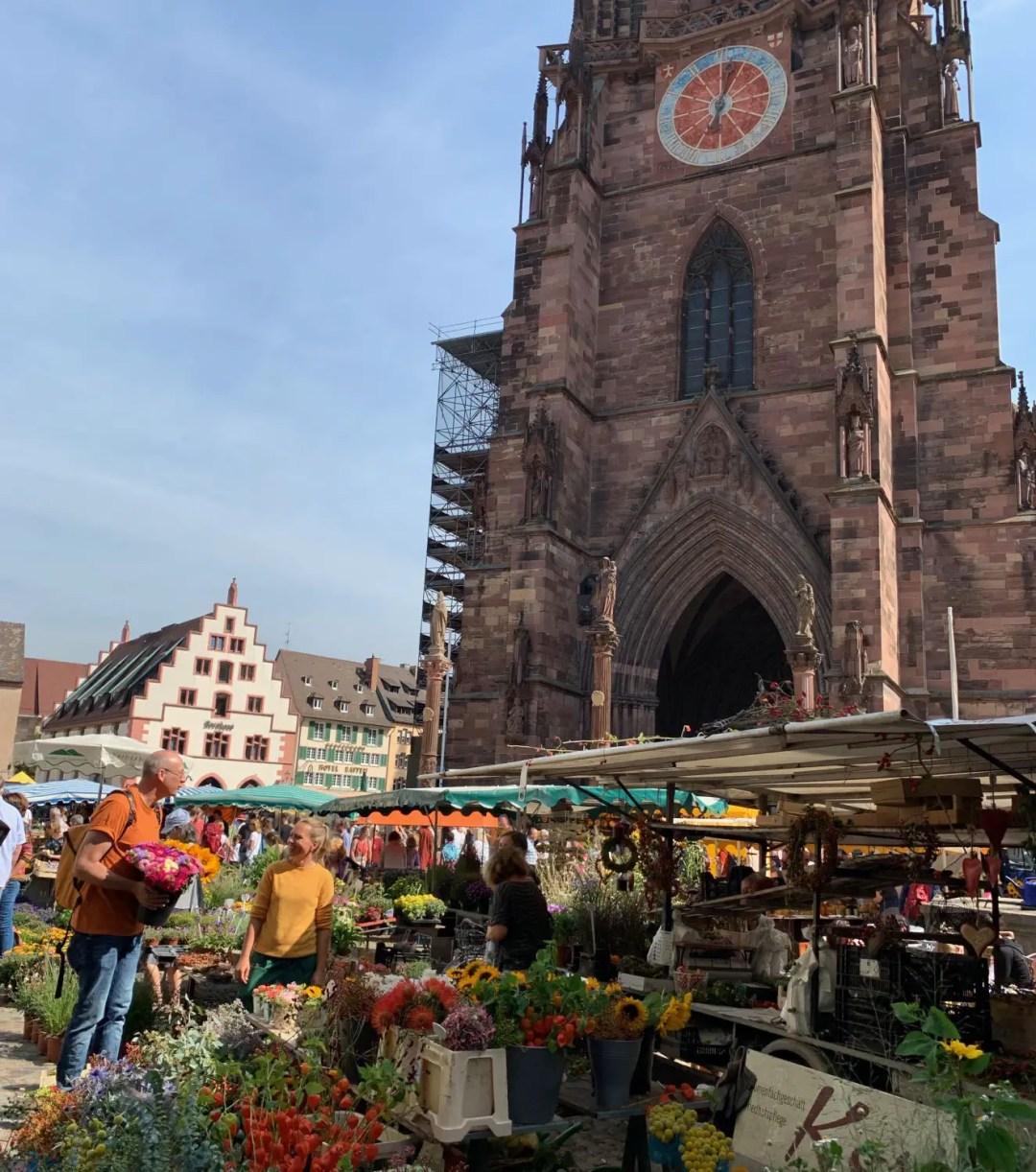 """The Münsterplatz Food Market is a """"must-do"""" in Freiburg"""