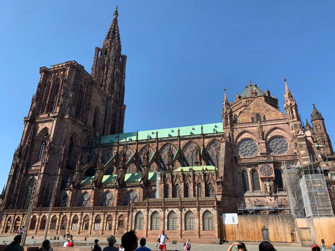 Cathedrale Notre-Dame  in Strasbourg