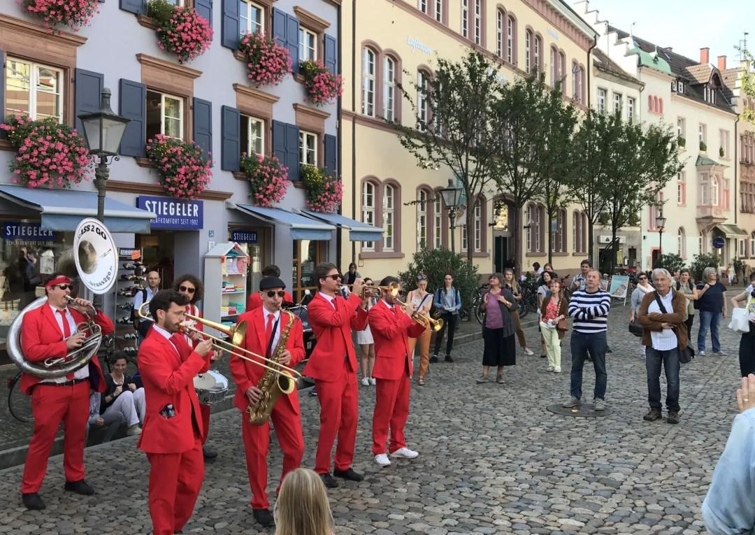 Brass band in Freiburg