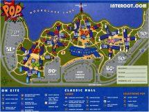 Disney World Pop Century Resort Map