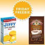 SavingStar: FREE Jiffy Corn Muffin Mix & Land O Lakes Cocoa Mix