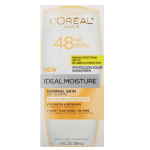 Amazon: L'Oreal Ideal Moisture 25 SPF Lotion as low as $2.75!
