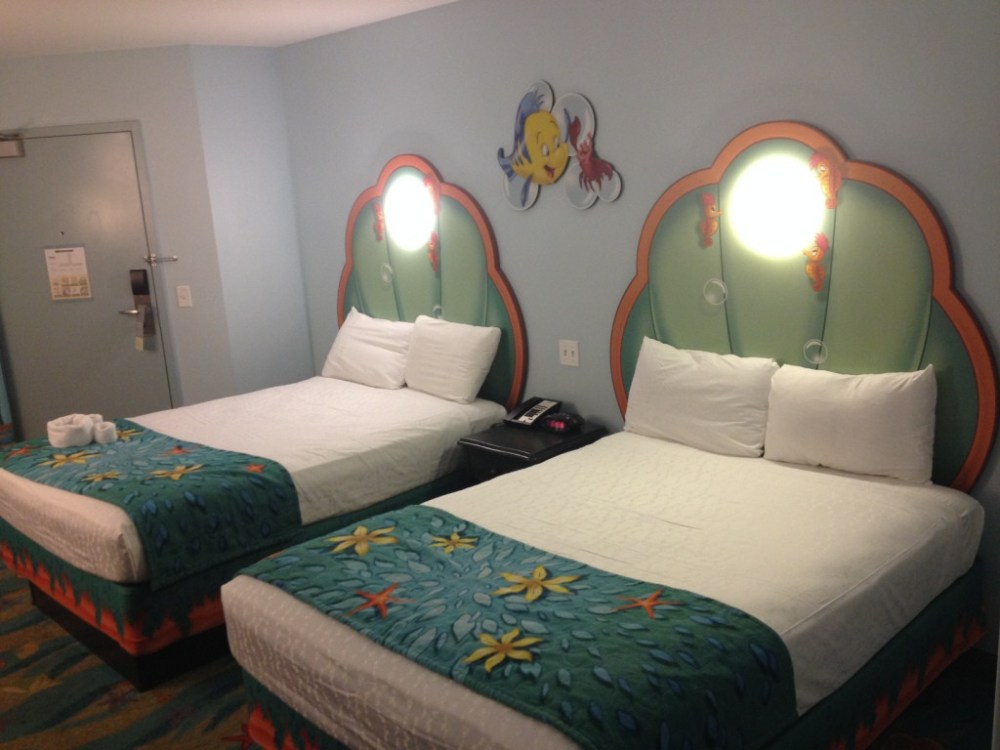 little mermaid themed room at art of animation