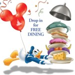 Free Dining at Walt Disney World Aug. 28th through Dec. 21st 2015