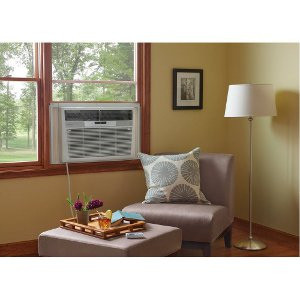 seating area near window air conditioner