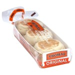 Thomas' English Muffins Coupon + Checkout 51 Rebate = $0.72 each at Food Lion