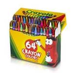 Amazon: Crayola 64 Ct Crayons only $2.99 shipped