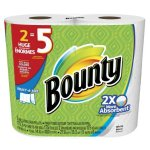Amazon: Bounty Select-A-Size Paper Towels, 12 Huge Rolls as low as $18.39