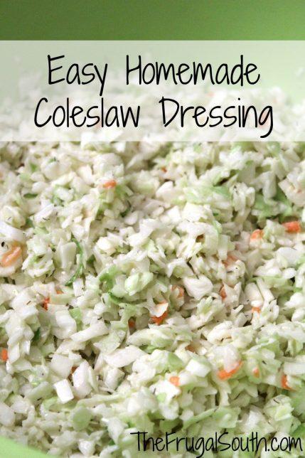 Basic coleslaw dressing recipe
