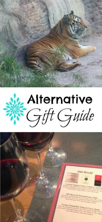 alternative gift guide pinterest image