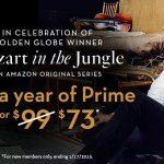 Get an Amazon Prime Membership for $73 – This Weekend Only (regularly $99)