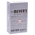 Amazon: New Deals on Mrs. Meyer's Laundry Products – Dryer Sheets $4.27