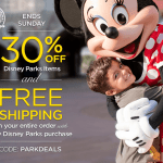 Expired: Disney Store: 30% off Disney Parks Products + Free Shipping