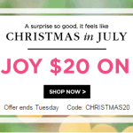 FREE $20 to Spend at Shutterfly (just pay shipping!)