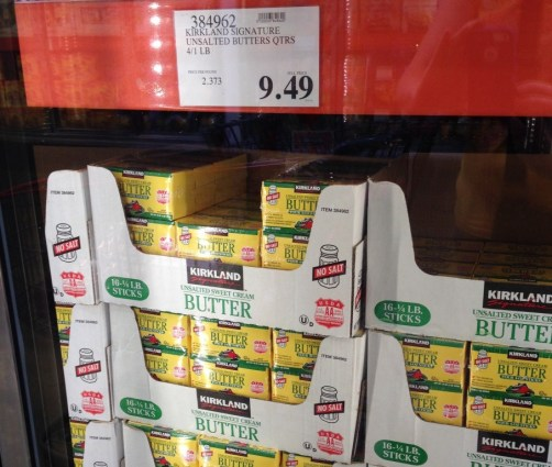 picture of butter at costco